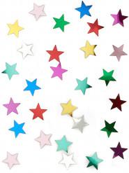 Coriandoli con stelle multicolori 14 gr