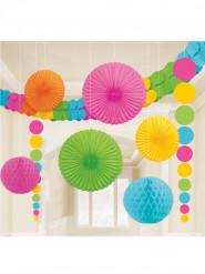 Kit di decorazioni da sala multicolore