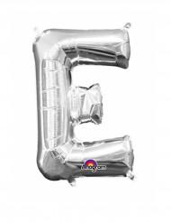 Palloncini in alluminio lettera E argentata