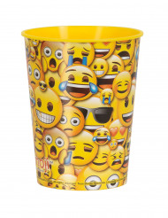 Bicchiere di plastica smiley Emoji™