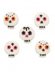 5 decorazioni di zucchero Dia de los muertos