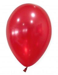 50 palloncini rossi metallizzati