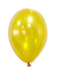 50 palloncini color oro metallizzati