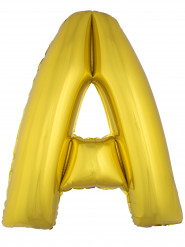 Palloncino gigante lettera A dorata