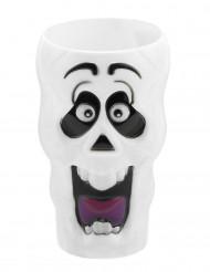 Bicchiere lungo scheletro di Halloween