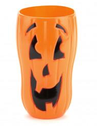 Bicchiere lungo zucca di Halloween