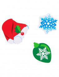 24 coriandoli natalizi di cartone