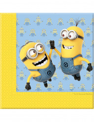 20 tovaglioli di carta lovely Minions™