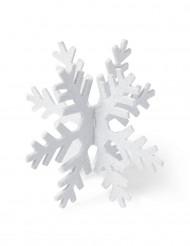 Fiocchi di neve decorativi 15 cm con paillettes