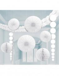 Kit di decorazioni bianche