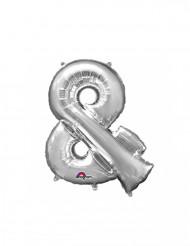 Palloncino di alluminio argentato &