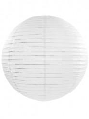 Lanterna giapponese bianca 45 cm