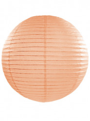 Lanterna giapponese color pesca 45 cm