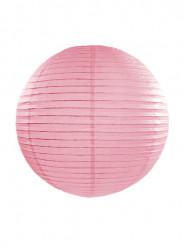 Lanterna giapponese color rosa 35 cm