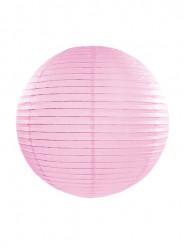 Lanterna giapponese rosa 35 cm