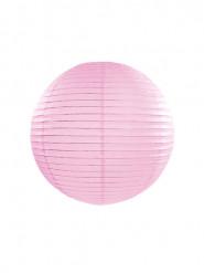 Lanterna giapponese rosa 25 cm