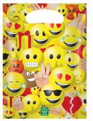 6 sacchetti in plastica Imoji™