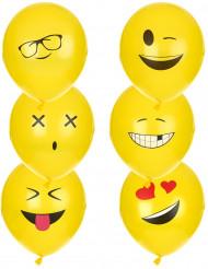 6 palloncini di lattice Imoji™