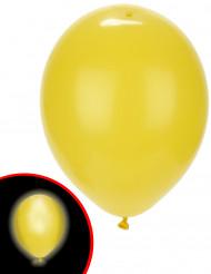 5 palloncini a LED gialli Illooms™