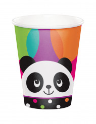 8 bicchieri di carta Panda Party