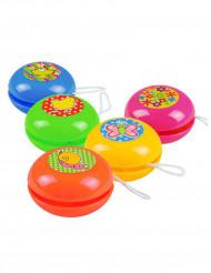 5 mini yoyo colorati