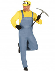 Costume da omino giallo per adulto