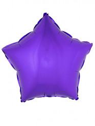 Palloncino alluminio stella viola 45 cm