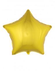 Palloncino di alluminio stella dorata 70 cm