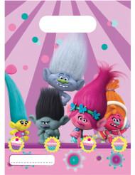 6 sacchetti regalo Trolls™