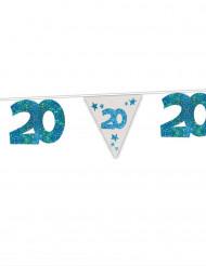 Ghirlanda blu 20 anni