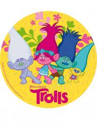 Disco di zucchero dei Trolls™ 20 cm