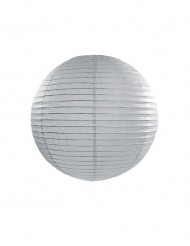 Lanterna giapponese grigia 25 cm