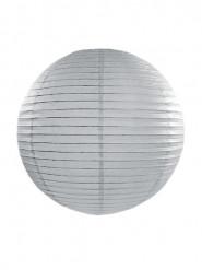Lanterna giapponese grigia 35 cm