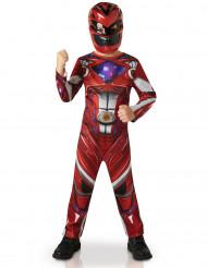Costume Power Rangers™ rosso - il film per bambino
