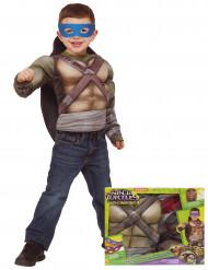 Costume Tartaruga Ninja™ muscolosa lusso bambino