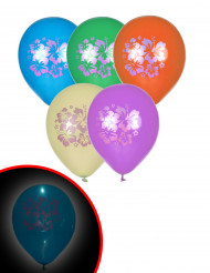 5 palloncini a LED Hawaii