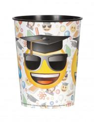 Bicchiere grande di plastica Emoji™