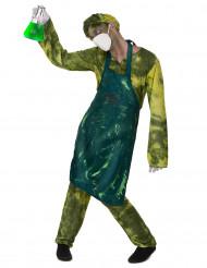 Costume medico radiattivo per adulto