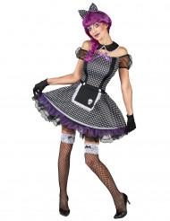 Travestimento bambola gotica per donna