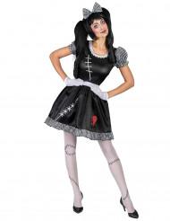 Costume bambola scucita da donna