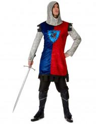 Costume cavaliere medievale per adulto