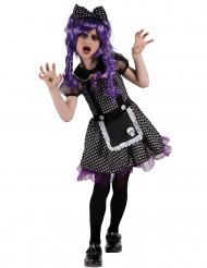 Costume bambola gotica bambina