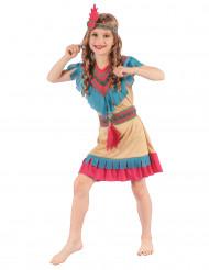 Costume indiana colorato per bambina