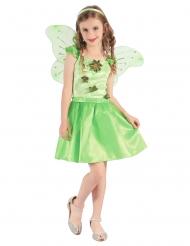 Costume fatina verde per bambina