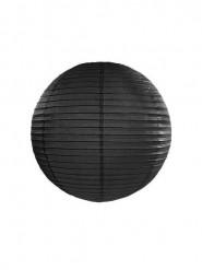 Lanterna giapponese nera 25 cm