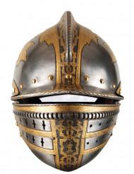 Maschera in cartone elmo medievale