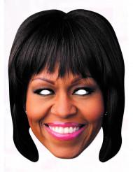 Maschera di cartone Michelle Obama