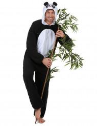 Costume panda adulto