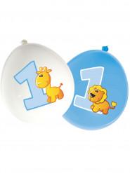 16 palloncini di lattice Animali 1 anno bimbo
