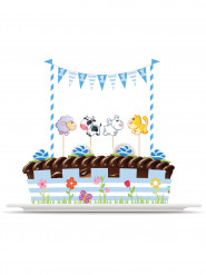Kit di decorazioni per torta animali 1 anno bimbo